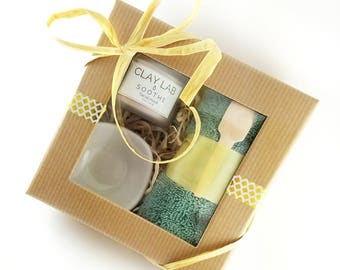 Natural Clay Mask Mini Gift Set