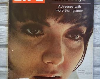 Vintage Life Magazine - Brenda Vaccaro Life Magazine - Vintage photo - Brenda Vaccaro from Midnight Cowboy - Retro decor - Female decor