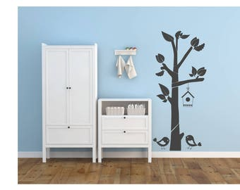 Vinyl sticker mural | decal | tree | branches | birds