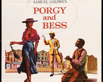 """Porgy and Bess (1959) Vintage Movie Poster - 27"""" x 41"""""""