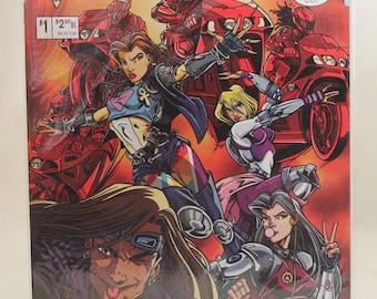 Atomic Angels #1. Crusade Comics. (1996)