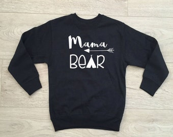 Mama Bear & Daddy Bear Sweatshirts!!