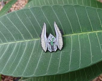 Vegan Warrior Enamel Pin