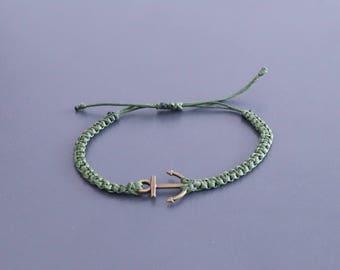 Surfer Bracelet  - Beach Bracelet, Jewellery, Wristband, Wristlet, sailor, anchor