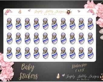 Baby/Newborn/Pregnancy - Planner Stickers
