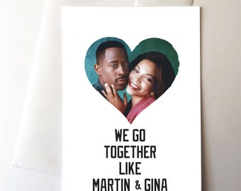 Martin & Gina Love Card
