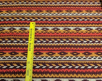 Sunset Blanket Stripe Cotton Fabric from Michael Miller