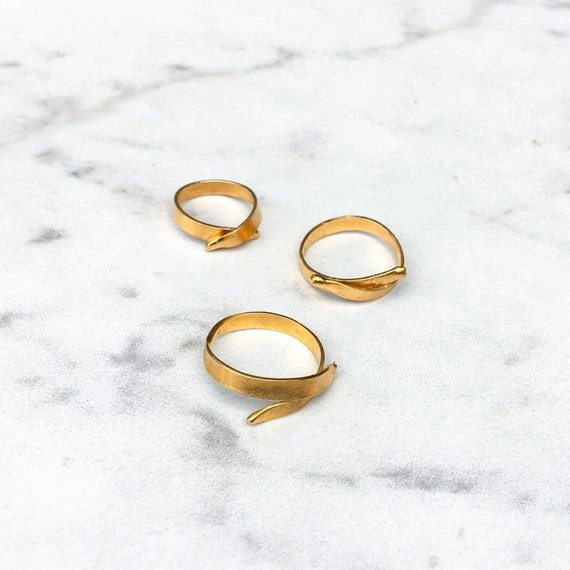 unique stacking ring stacking gold band gold wedding ring
