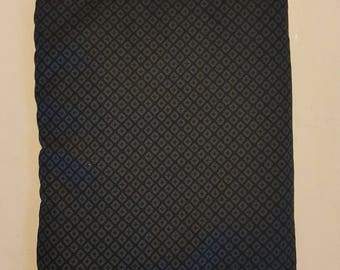 Black and Gray Rice Heating Bag