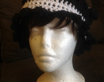 Crocheted Spectator Hat, DC and Clusters, in a variety of colors