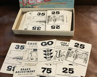 1958 Touring Automobile Game by Parker Brothers
