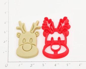 Rudolph Cookie Cutter Rudolph Birthday Rudolph Party Rudolph Baby Show Rudolph Cupcake Rudolph Gift
