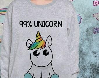 Unicorn raglan Sweatshirt