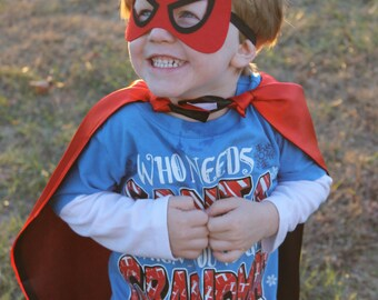Spiderman Cape and Mask, Superhero cape, Spiderman costume, Boys Pretend Play, Spiderman Birthday Party, Personalized Cape, Gifts for Boys