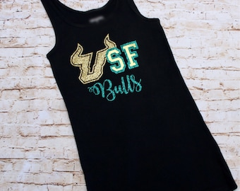 USF Bulls Ladies' Tank Top - University of South Florida