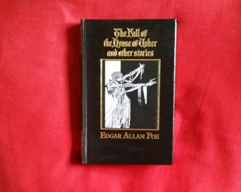 Edgar Allan Poe - The Fall of the House of Usher and Other Stories (Marshall Cavendish 1986) hardback - Harry Clarke