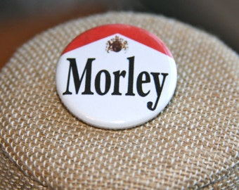 The X-Files Morley Button, The X-Files Morley Pin, Smoking Man Button, Smoking Man Pin