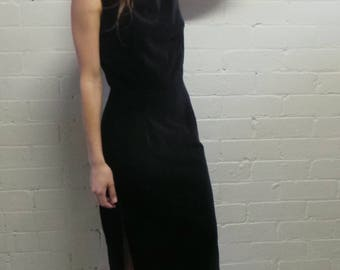 Black Velvet Zara Dress