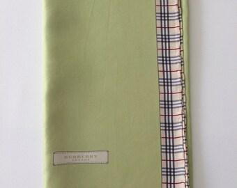 BURBERRY - Small silk scarf vintage