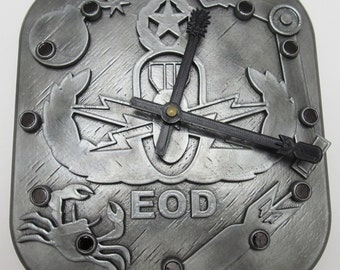 EOD Wall Clock without Name Insert