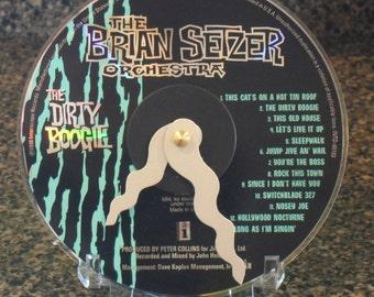 Brian Setzer Orchestra CD Clock
