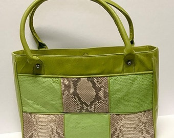 Waverly Collection- Small Leather Totes