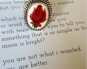 Ruby Rose Vintage Adjustable Ring