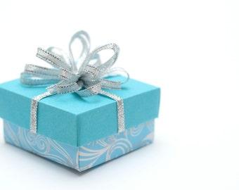 Christmas gift wrapping - Gift box with lid - Christmas custom gift box - Jewelry box - Customizable gift box