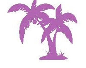 Palm Tree Decal #2