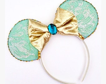 The Princess of Agrabah - Disney Aladdin Princess Jasmine Inspired Mouse Ears Headband