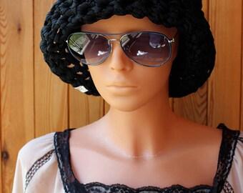 Floppy hat, crochet Summer hat, sun hat, floppy sun crochet hat, crochet bucket hat, women's gift ideas, gift for her