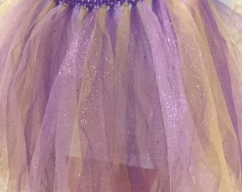 Purple/Pink/Gold Sparkle Wonder Tutu