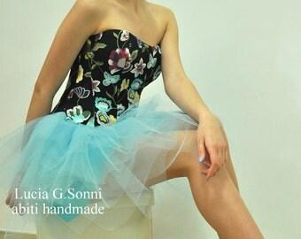 Bustier, corset, Bustier with laces, unconventional bride, bride rock