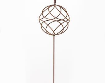 Handmade Steel Sphere Sculpture