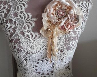 Bohemian corsage