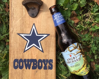 Dallas Cowboys Bottle Opener / CHOOSE ANY TEAM