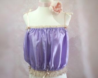 The belle-1920s silk, lace, violet, art deco, camisole, pinup, 20s, vintage, gift, bridal, flapper, wedding, bodiour, rockabilly