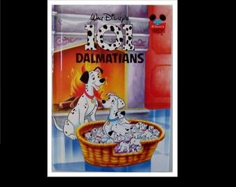 Vintage Walt Disney Book 101 Dalmatians 1995 first american edition Children classic book