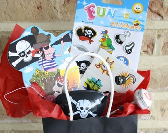 Kids' Party Bag and Fillers - Pirate themed.