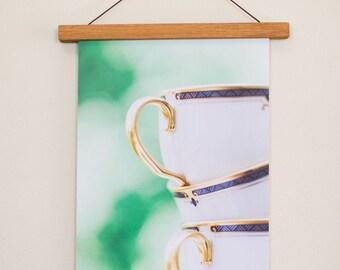 Stacked Teacups Fine Art Print