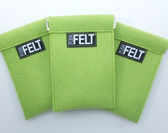 Wool Felt Coin Purse—Fits Credit Cards Too!