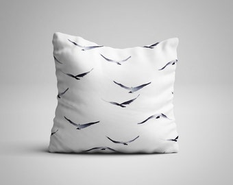Flock of Birds Cushion.
