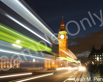 London Lights Photograph Print