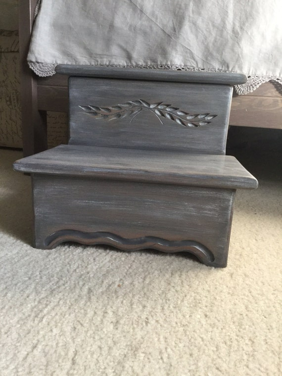 Bed Step Stool: Step Stool With Storage Bed Step Stool Bathroom Stool