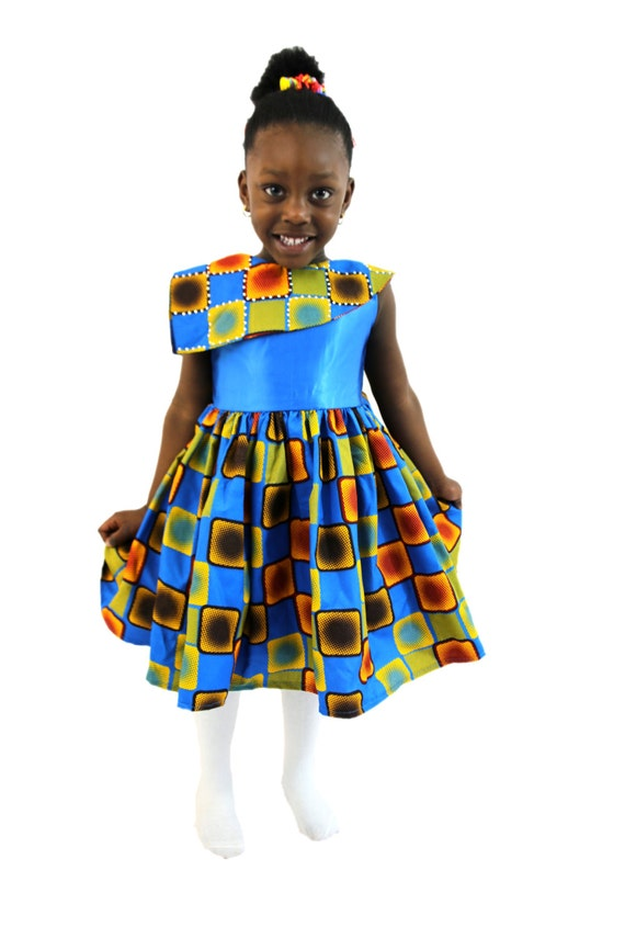 Items similar to girls clothes african print dresses for Fabric for children s clothes
