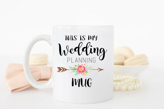 Gifts For A Wedding Planner: Wedding Planning Mug, Engagement Gift, Wedding Planning