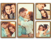 5 Piece Picture Frame Set...