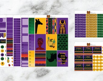 Kumasi Planner Stickers Happy Planner