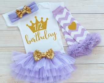 Half Birthday Shirt, Baby Half Birthday Outfit, 6 Month Birthday, Cake Smash Bodysuit, Half Birthday, Half Way To One Outfit, Baby Shirt