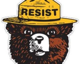 """Resist - """"Smokey the Bear"""""""
